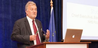 Mr. Stuart Bain, Chief Executive, East Kent Hospitals University NHS Foundation Trust addresses the HMI Annual Conference 2012