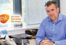 Aidan Lynch, General Manager of GSK Pharma Ireland