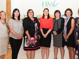 Jenny Wilson, Sharon Cooley, Patricia O'Gorman, Maura Loftus, Unknown, Elaine Prendergast, Niamh Smyth, Alison Dougall, Mary Forry