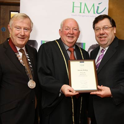 Denis Doherty, Kieran Hickey and an Taoiseach, Brian Cowen, TD