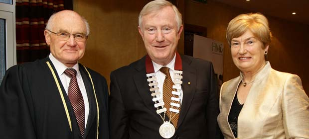 Noel Nelson, Denis Doherty and Catherine Nelson