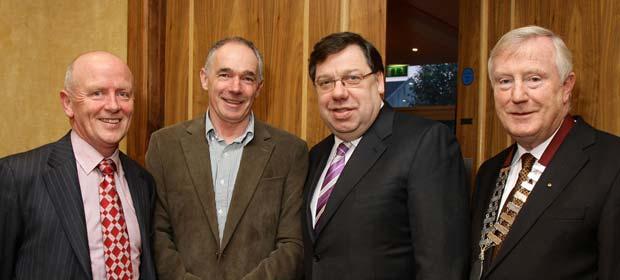 Conor Hannaway, shrc limited, Tony Long, An Taoiseach, Brian Cowen and Denis Doherty