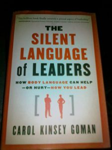 The Silent Language or Leaders