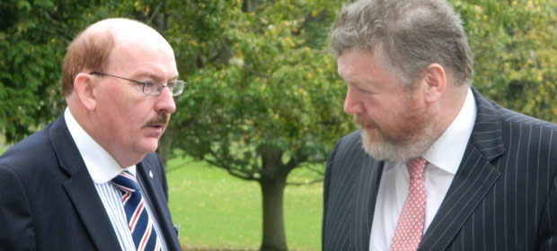 Gerry O'Dwyre, HSE RDO and Health Minister, Dr. James Reilly, T.D.