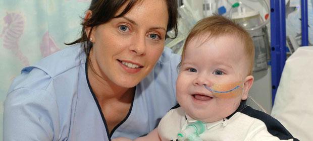 Clara Murtagh and baby Mark Sheehan