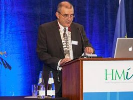 Richard Dooley, President, HMI opening the Institute's 2nd National Conference in Dublin