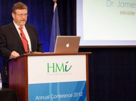 Dr. James Reilly, T.D., Minister for Health addresses the HMI Annual Conference 2012