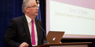 Tony O'Brien, Director General Designate, Health Service Executive addresses the HMI Annual Conference 2012