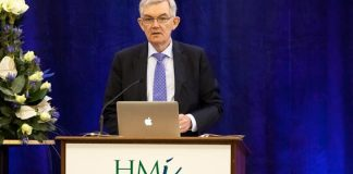 Department of Health Secretary General, Dr. Ambrose McLoughlin