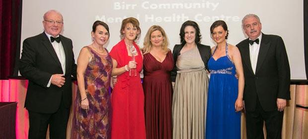 Rosalie Kavanagh, Geraldine Goode, Margaret Standish, Veronica Flannery,Yvonne Guinan and Marty Whelan MC
