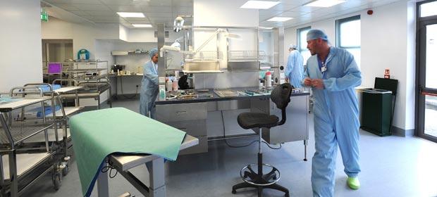Central Decontamination Unit at Cappagh National Orthopaedic Hospital