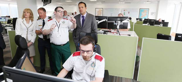 Dr. Leo Varadkar T.D. officially opened the new HSE National Ambulance Service (NAS) headquarters