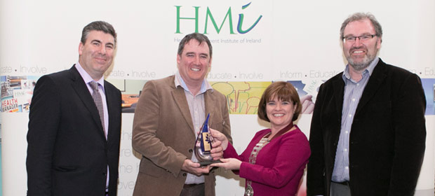 Ray Cahill, McKesson, Keith Morrissey, HSE, Lucy Nugent, President, HMI, Prof. Neil O'Hare, St. James's Hospital