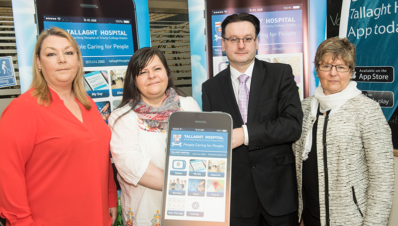 launch of the Tallaght Hospital Patient & Visitor app
