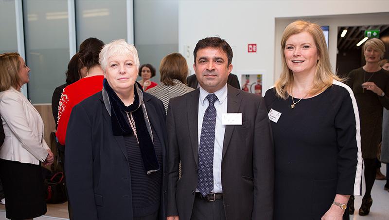 Dr. Ursula Skerritt, Executive CD, Dr. Amir Niazi, Executive CD and Dr. Amanda Burke, Executive CD