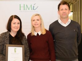 Catherine Kelly from WALK, with colleagues Mick Teehan and Vicky Hogan , Project' WALK in partnership with Tallaght Hospital'