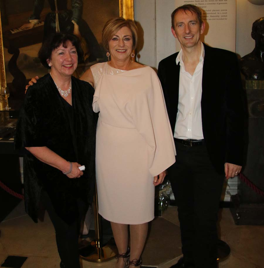 From left Margaret Philbin the Director of Midwifery and Nursing, Rotunda Hospital, Pauline Treanor and Professor Fergal Malone Master of the Rotunda
