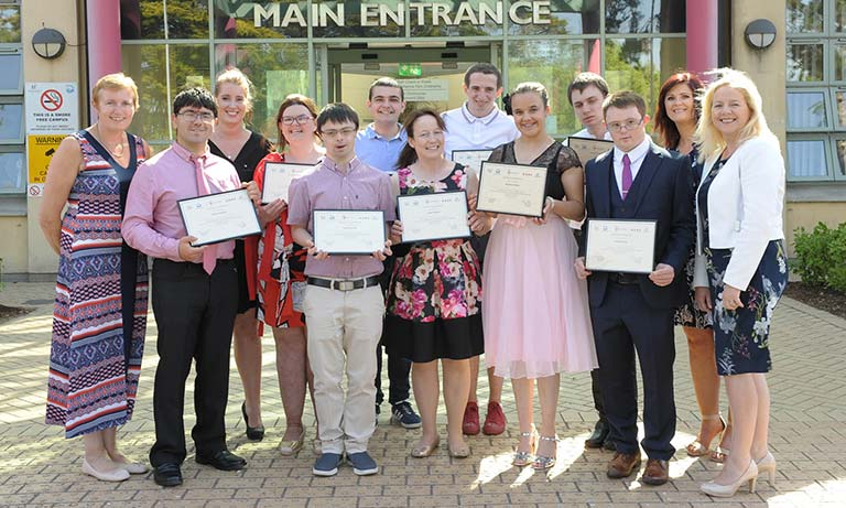 Project Search Interns Graduate at Naas General Hospital