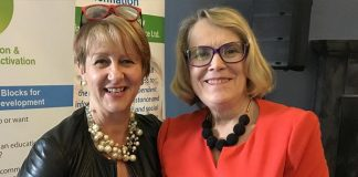 Carmel Geoghegan and Dr Helen Rochford Brennan