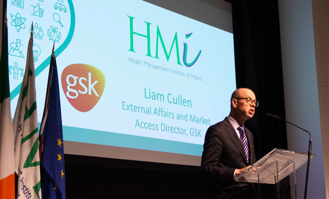 Mr. Liam Cullen, Director External Affairs and Public Policy, GSK Ireland