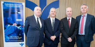 Mr Peter Lacy Chairperson, BSHS, Mr Bill Maher CEO, BSHS, Minister Jim Daly TD and Mr Harry Canning BSHC